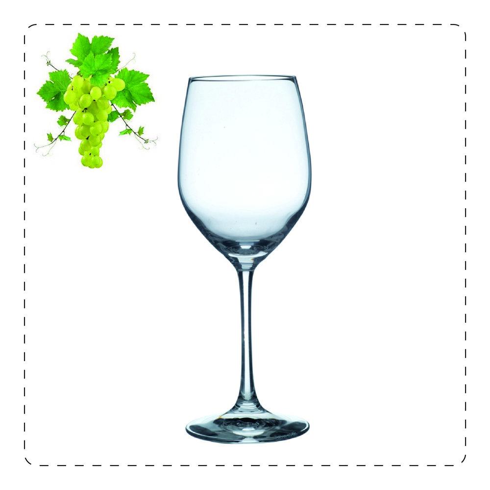 RENANO  Il renano è un calice leggermente chiuso in alto che permette di apprezzare meglio gli aromi e i profumi dei vini bianchi più strutturati, grandi spumanti spumanti e champagne e rosé.