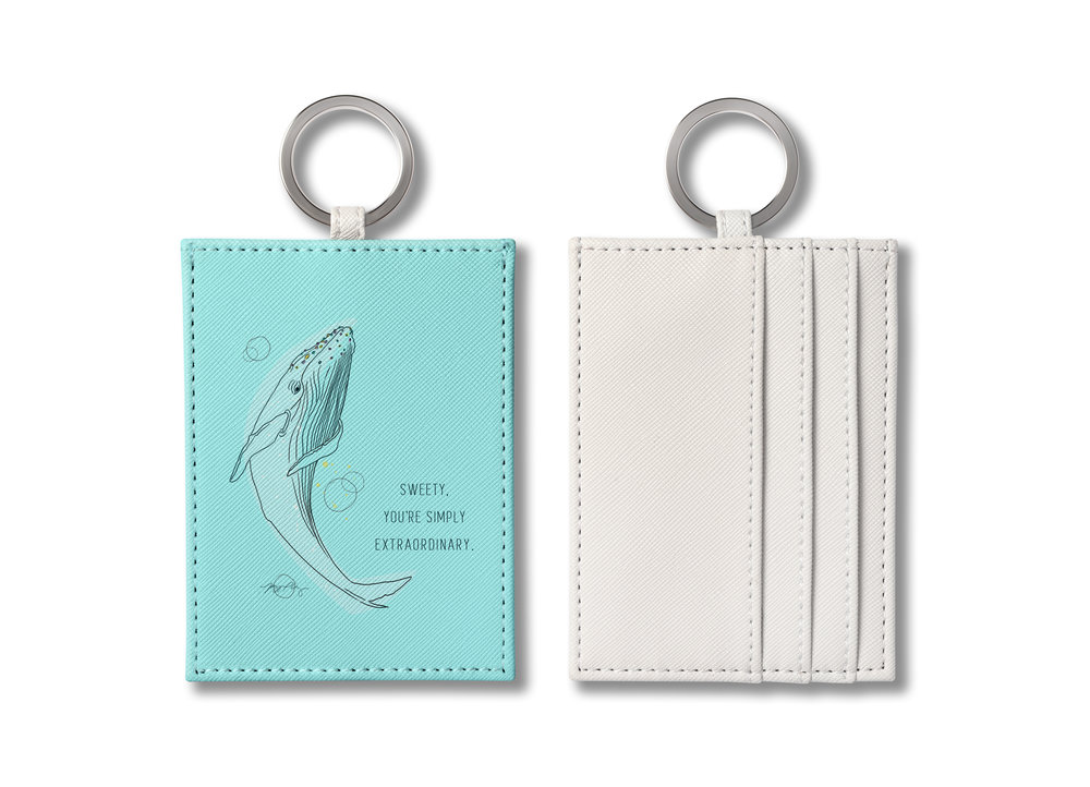 O-ring card cases ($22)