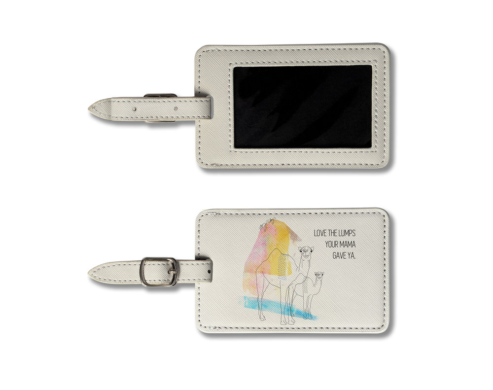 Luggage tags ($22)