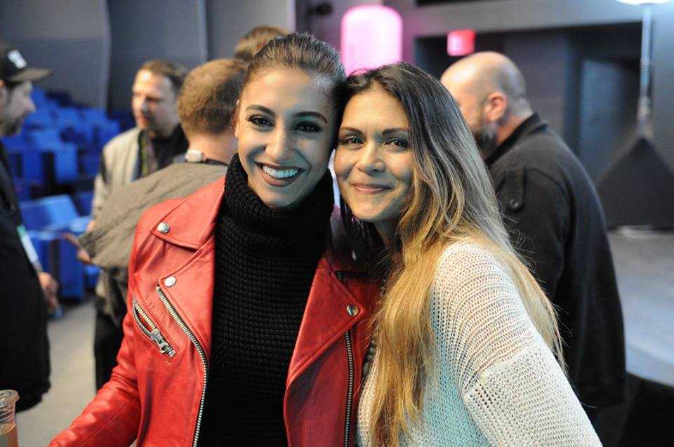 Andrea Helfrich & Nia Peeples