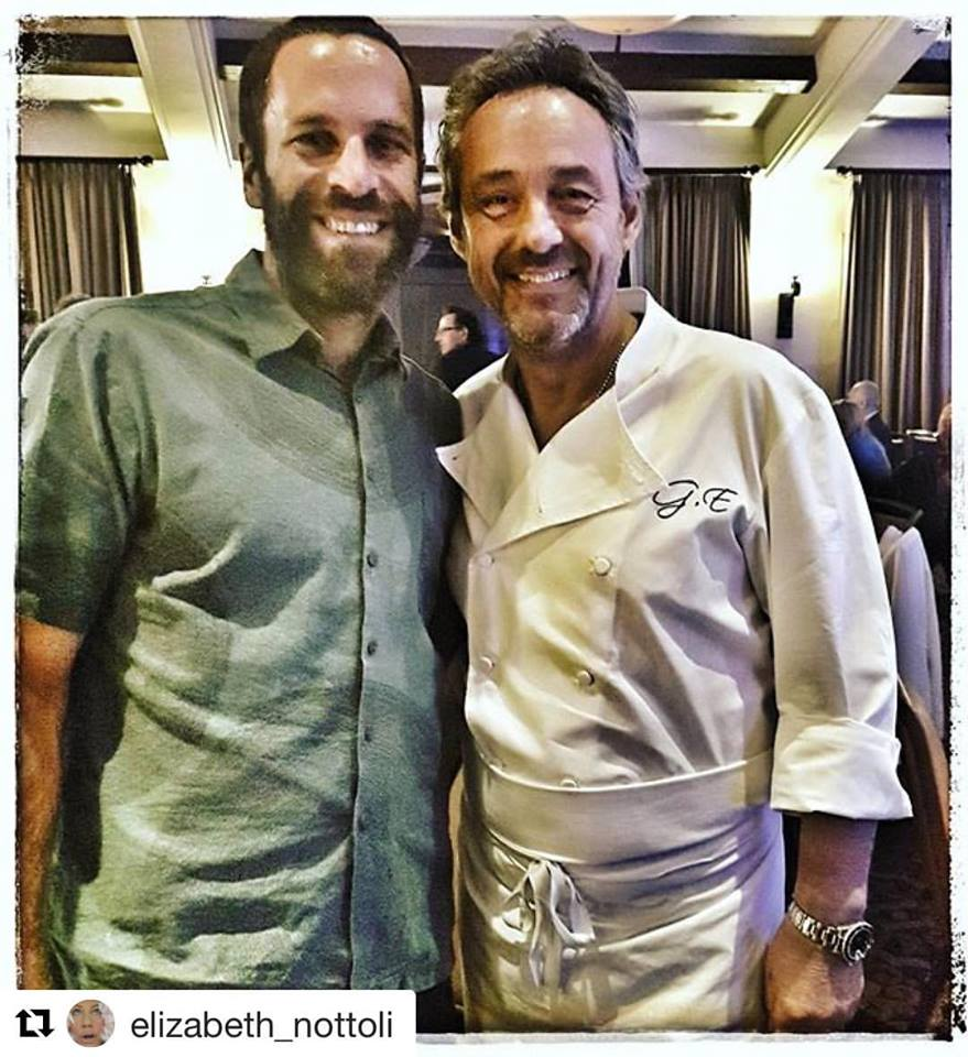 Jack Johnson & Chef Gilles Epié
