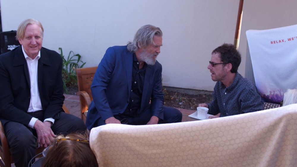 T Bone, Jeff Bridges & Ethan Coen