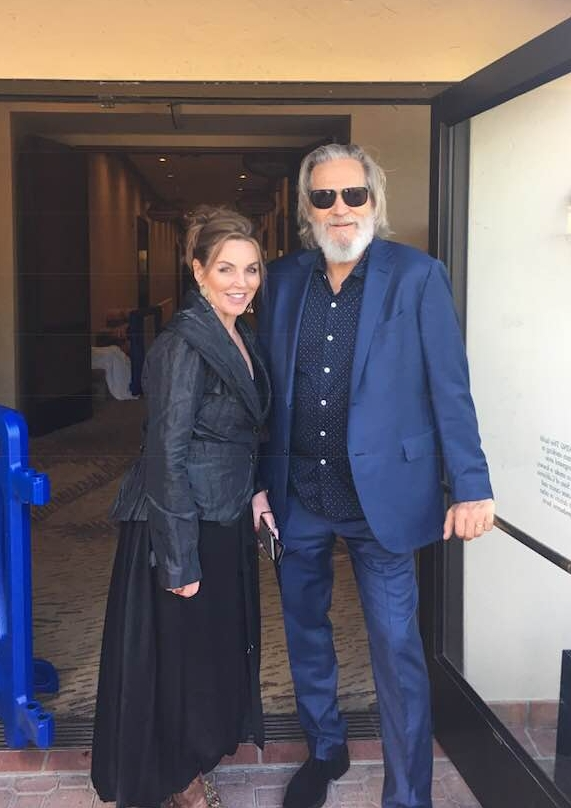 Laurie & Jeff Bridges