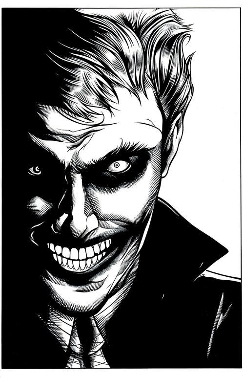 Joker Face MostafaInk