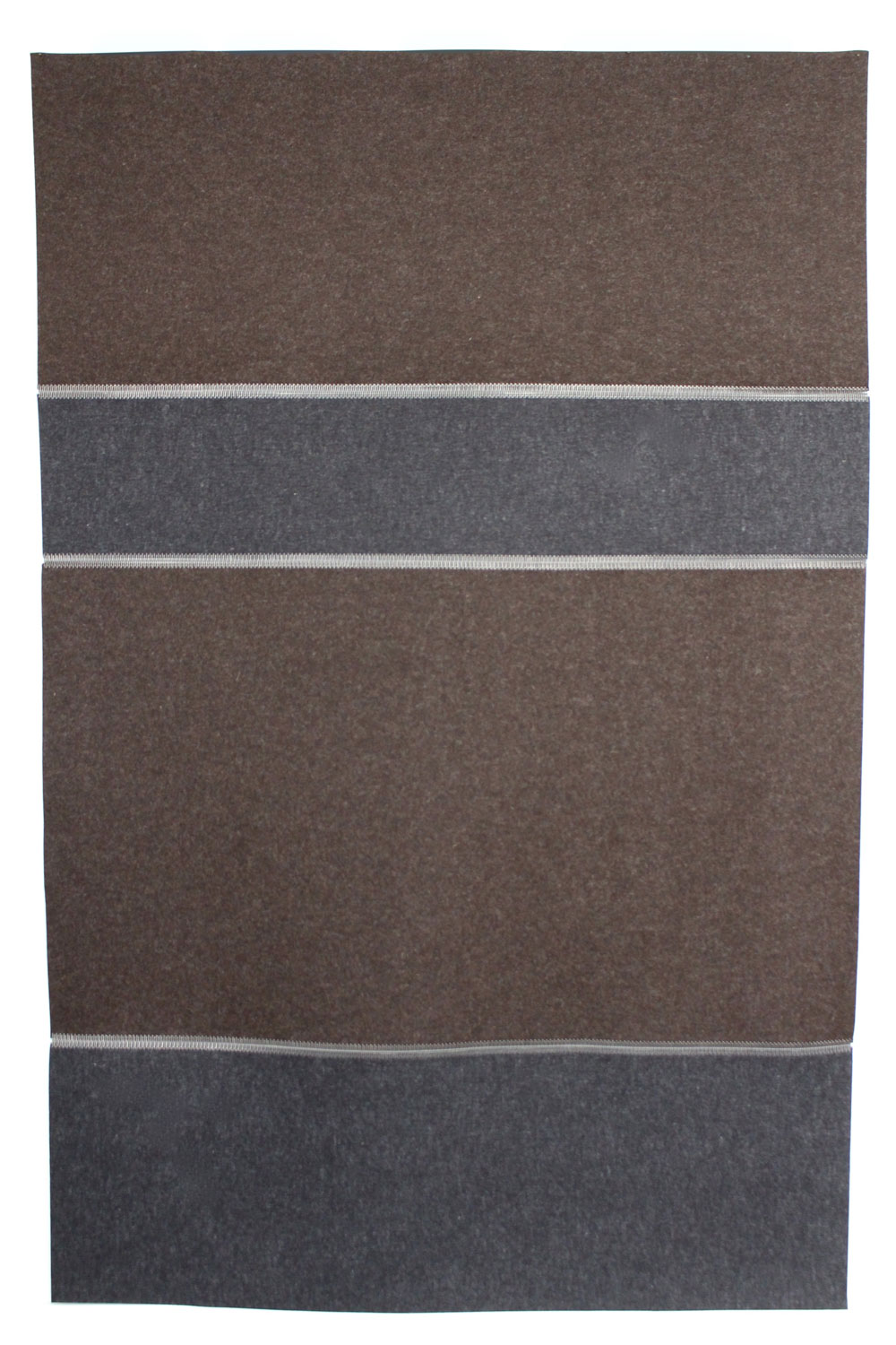 Wool Felt Rug - Anthrazit & Trufflebraun - Click to buy online