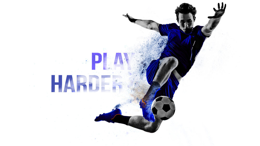 Play Harder- Style Frames