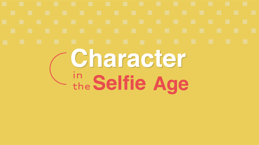 CHARACTERS IN THE SELFIE AGE - STYLE FRAMES
