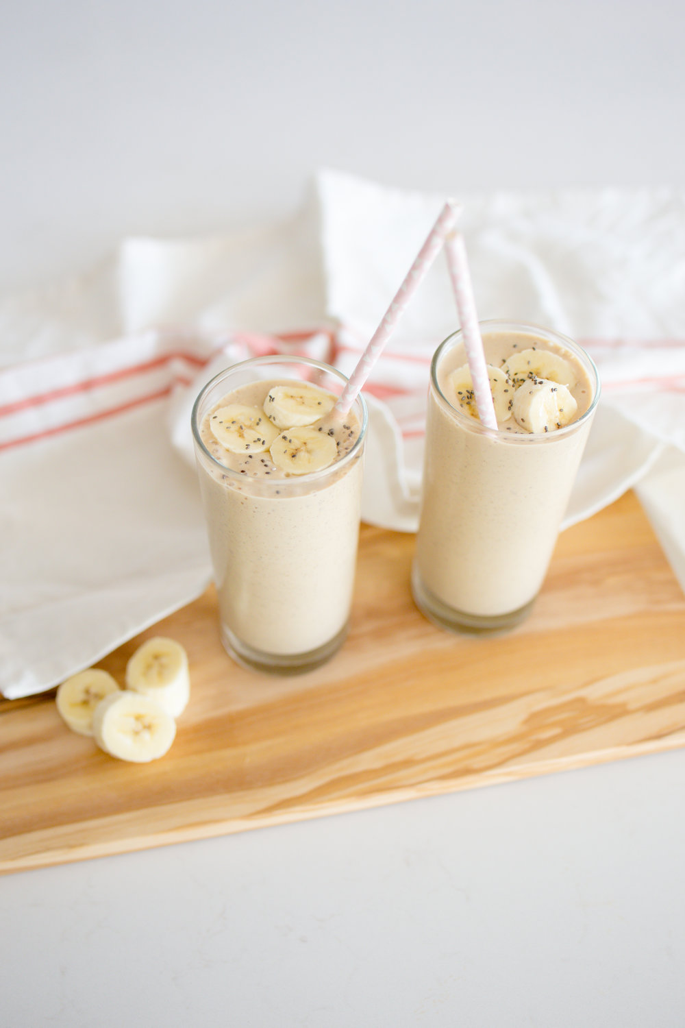 Vegan Peanut Butter Banana Protein Smoothie Smoothie