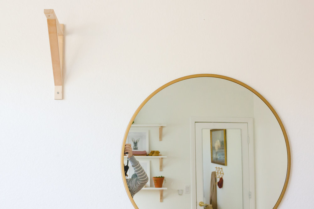 Ekby Valter used for a DIY boho tassel mobile for gender neutral minimalist nursery