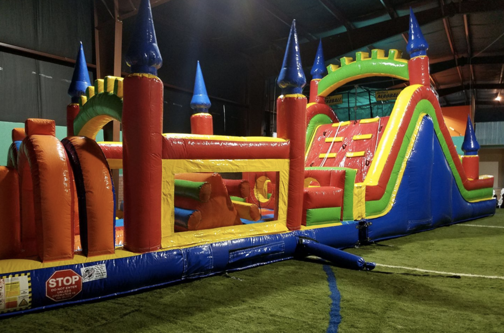 Play place at Blazing Bouncers