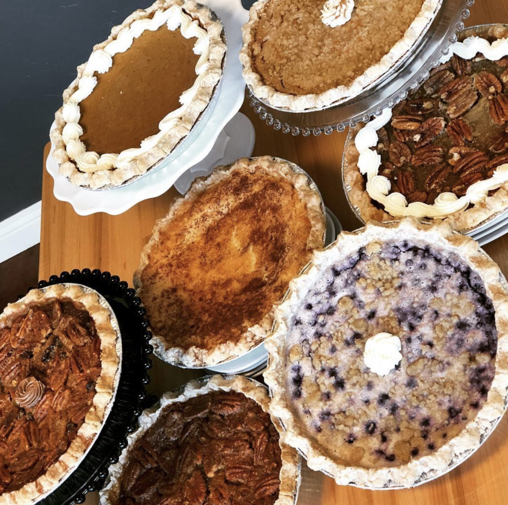 Pies from Simply Decadent Bakery