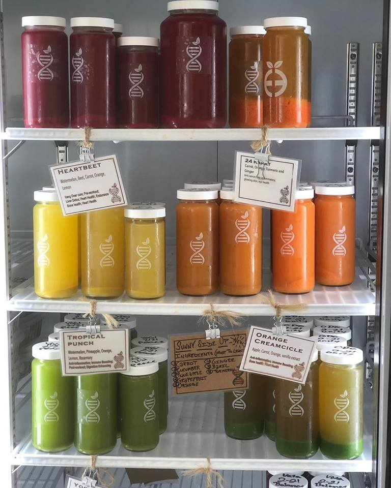 Emerge cold-pressed, organic juices are a great way to detox