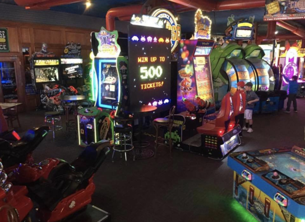 Arcade area at 50th Street Caboose