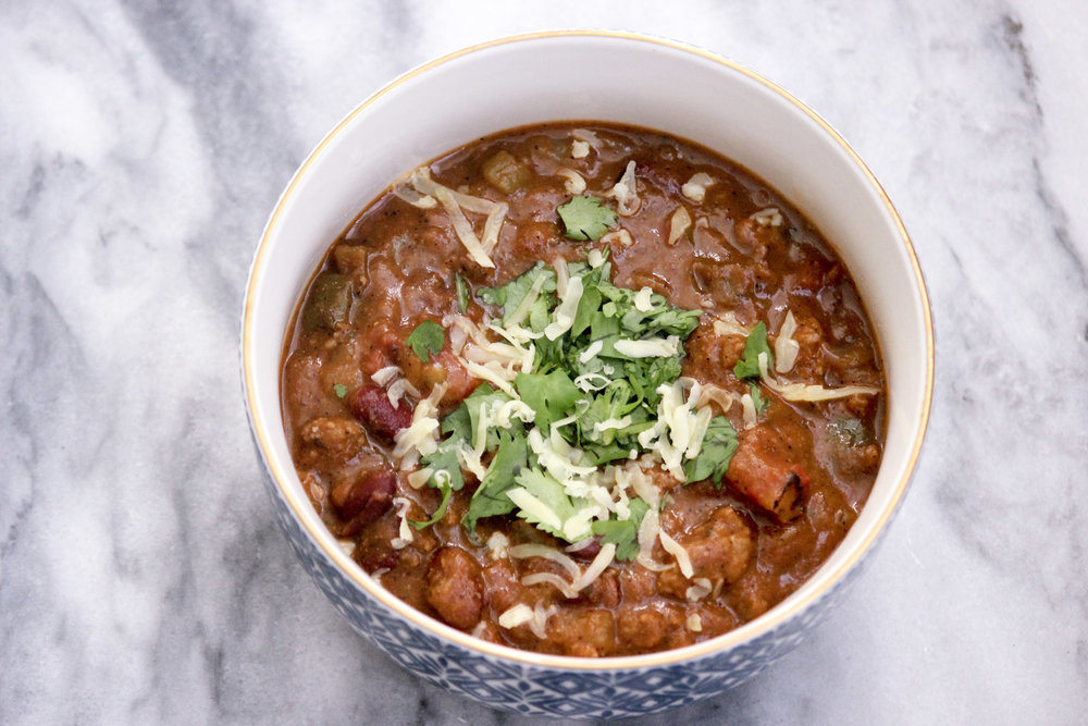 Smoky Pumpkin Chili