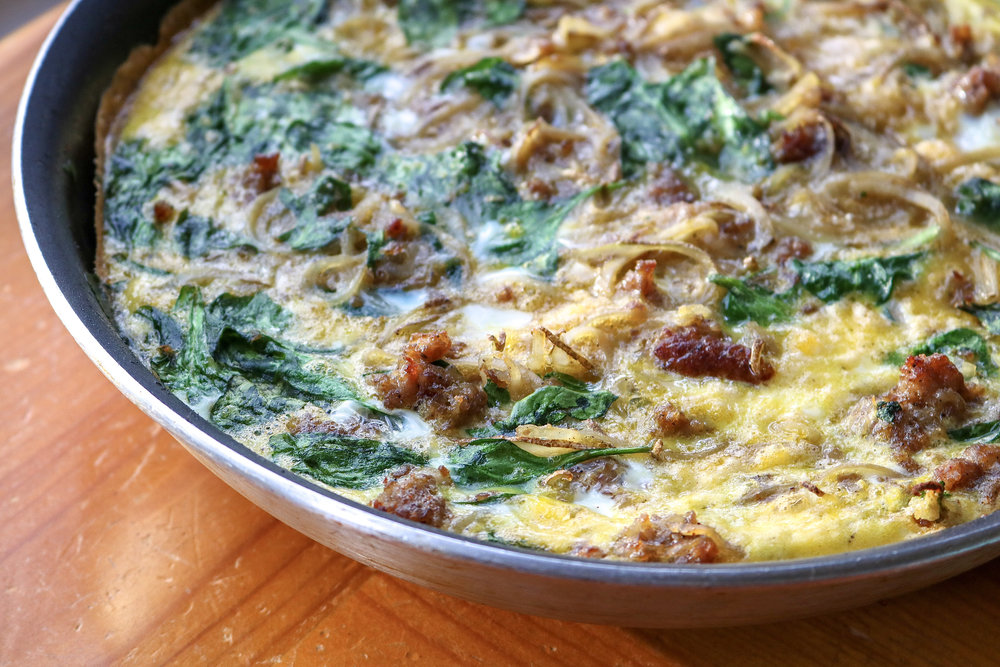 Whole30 Sausage and Potato Frittata