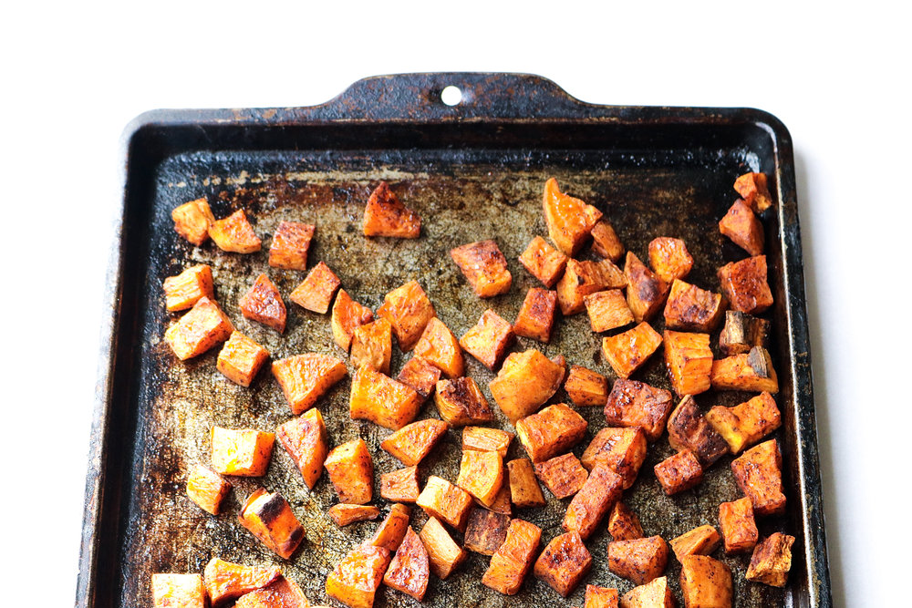 Perfect Roasted Sweet Potatoes | All the Healthy