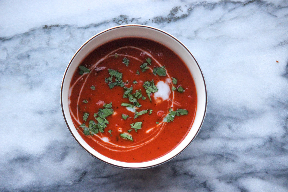 Whole30 Roasted Tomatoe Soup | All the Healthy Things.jpg