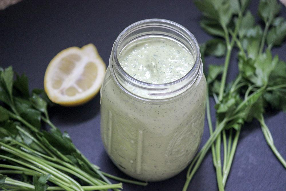 Lemon Herb Tahini