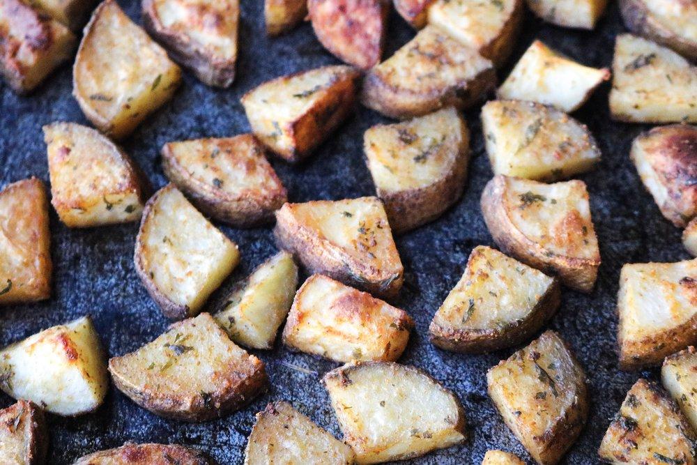 Easy Whole30 Breakfast Potatoes