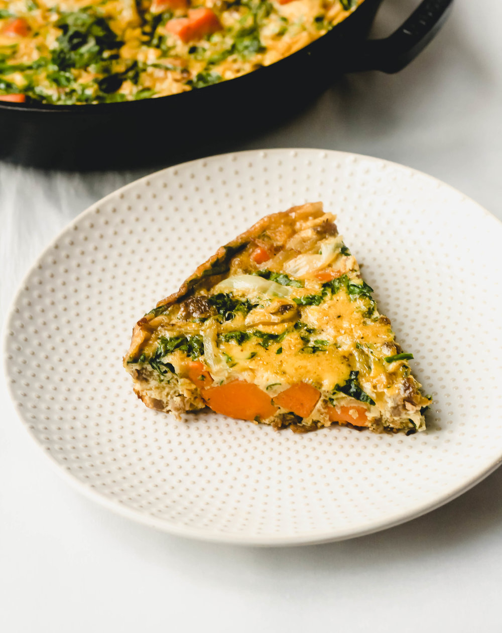 Sweet Potato and Sausage Frittata
