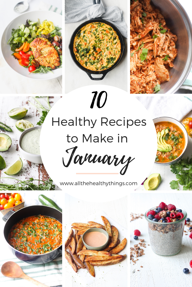 10 Healthy Recipes to Make in January