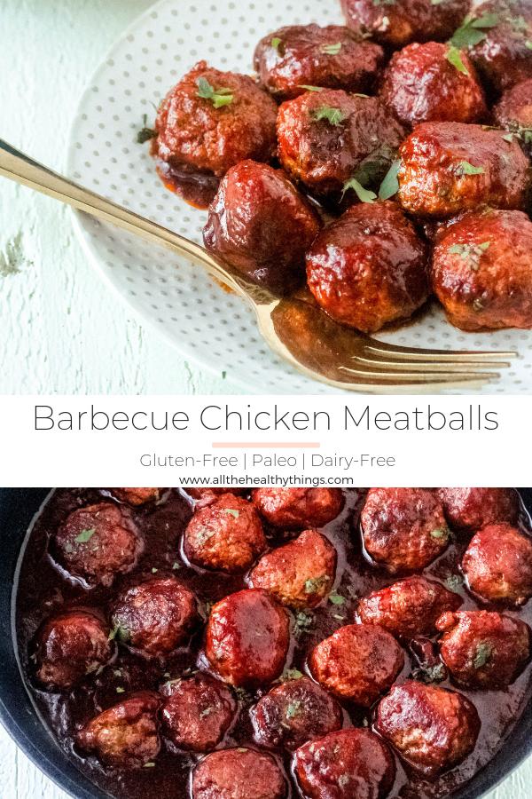 Barbecue Chicken Meatballs