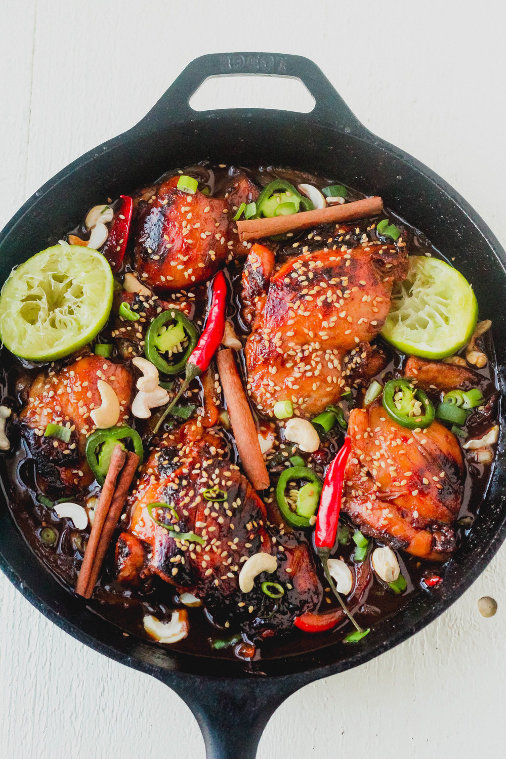 Sweet and Spicy Thai Chicken