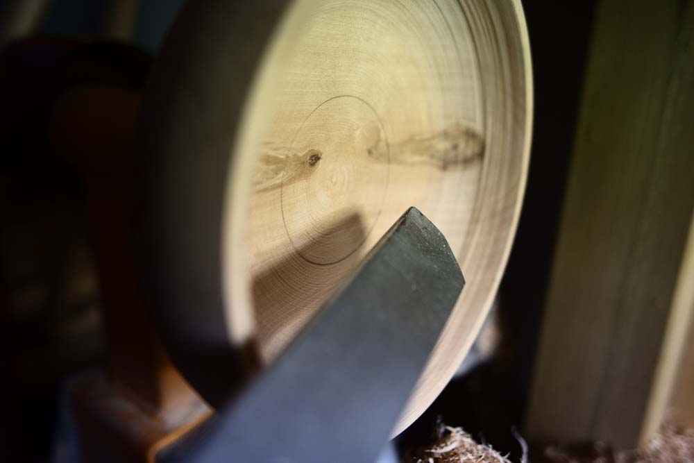 Turning wood