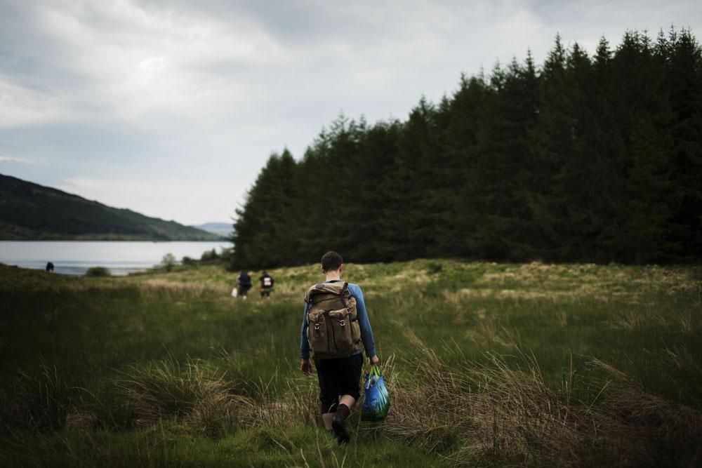 Approaching Loch Doon