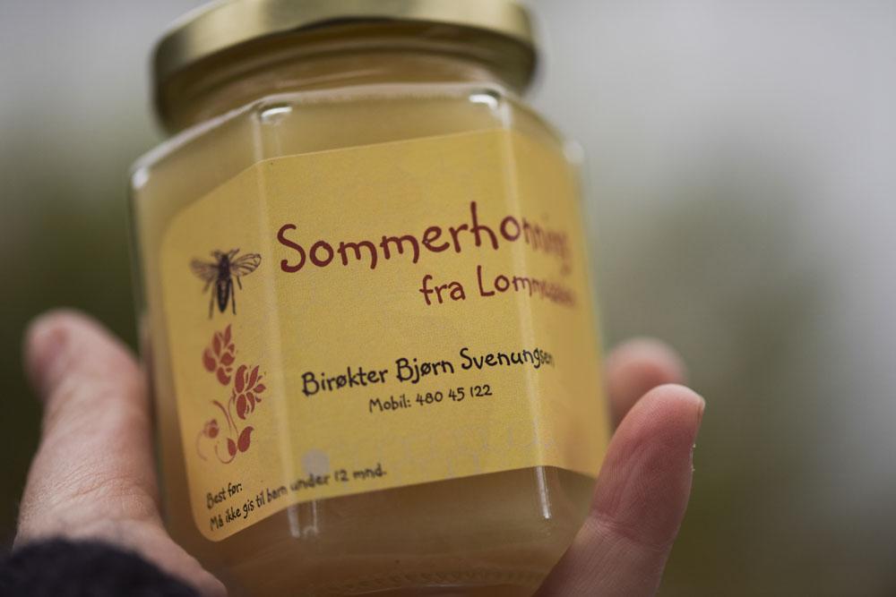 Bjørn's very own Honey