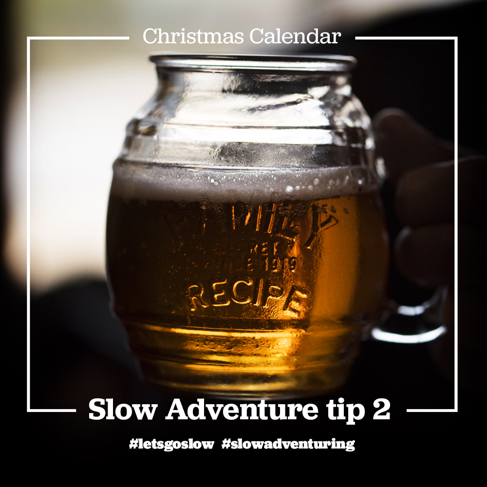 Slow Adventure tip 2 - Scottish Ale