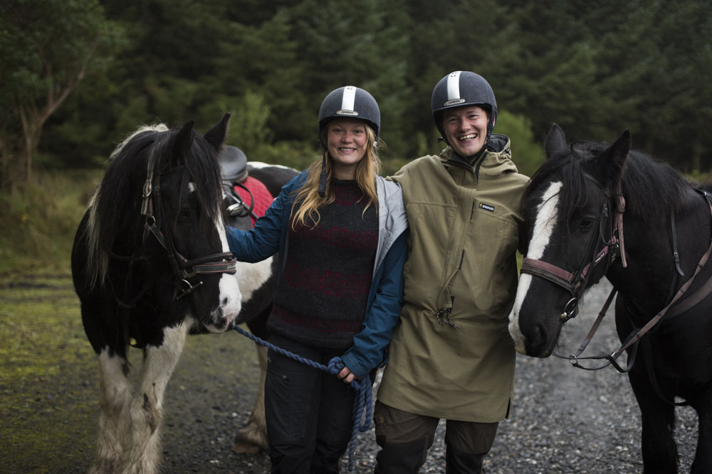 thea and mark from Let's go slow with horses in Northern Ireland