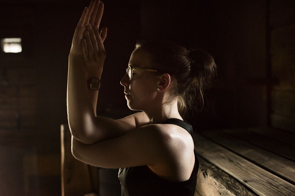 Sauna Yoga with Hanne in Iisakki-village
