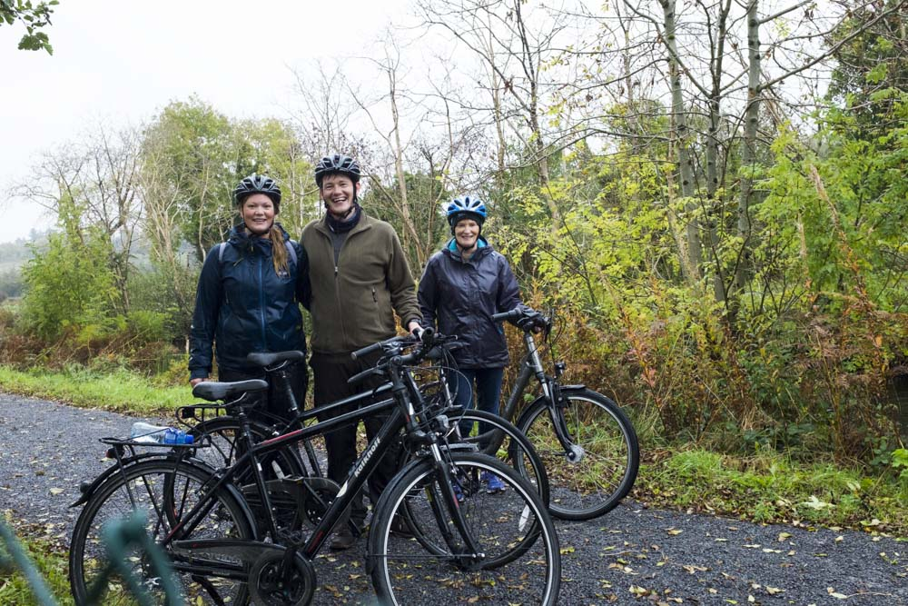 cycling with Leitrim Cycles