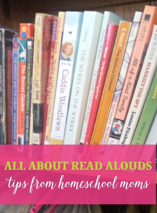 Need some read aloud tips for reading to your kids? I have a collection of fabulous tips from some top homeschooling bloggers.