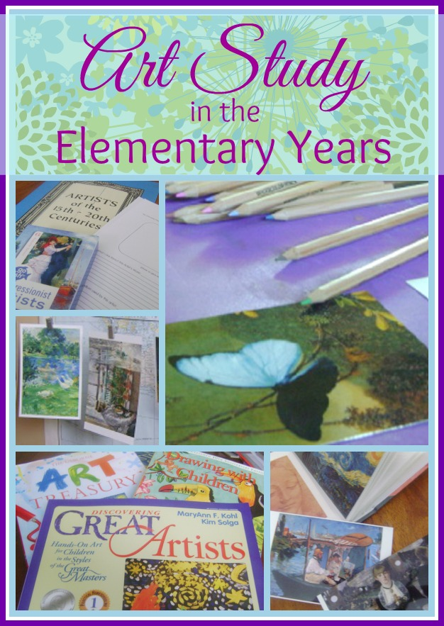 homeschool elementary art study
