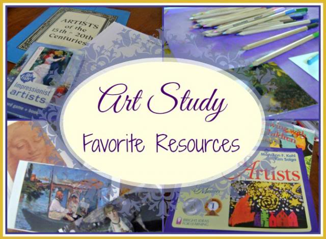 art study favorite resources