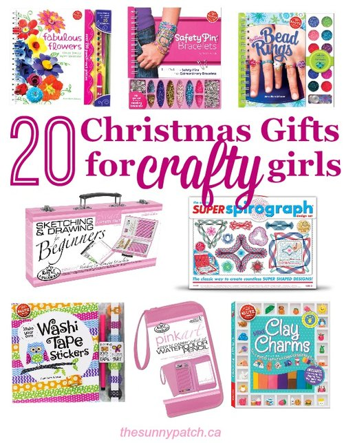 20 Christmas Gift Ideas for Crafty Girls — Happy Homeschool Nest ...
