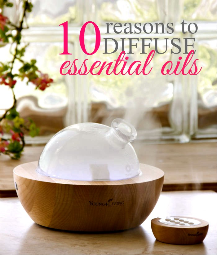 Diffusing essential oils is one of the quickest & easiest ways to begin using essential oils. Check out these reasons you should diffuse essential oils.