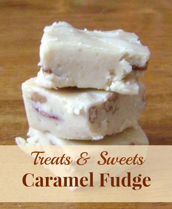 A quick and easy recipe for caramel fudge. A regular fudge recipe can sometimes be difficult to master but this simple recipe for caramel fudge couldn't be easier!