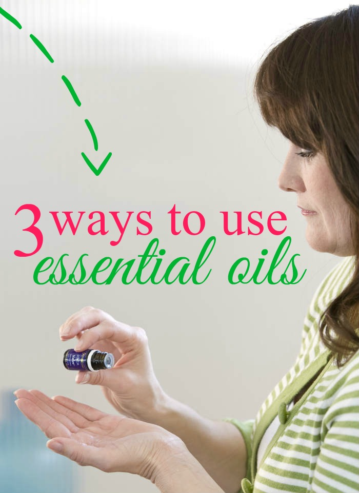 There are 3 different ways you can use essential oils to promote health - topical application, inhalation, and ingestion. This post details the 3 methods.