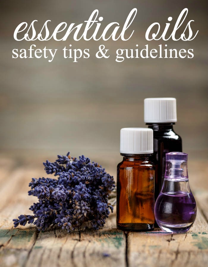 Before beginning to use essential oils you should keep a few things in mind - here are a few essential oil safety tips and guidelines.