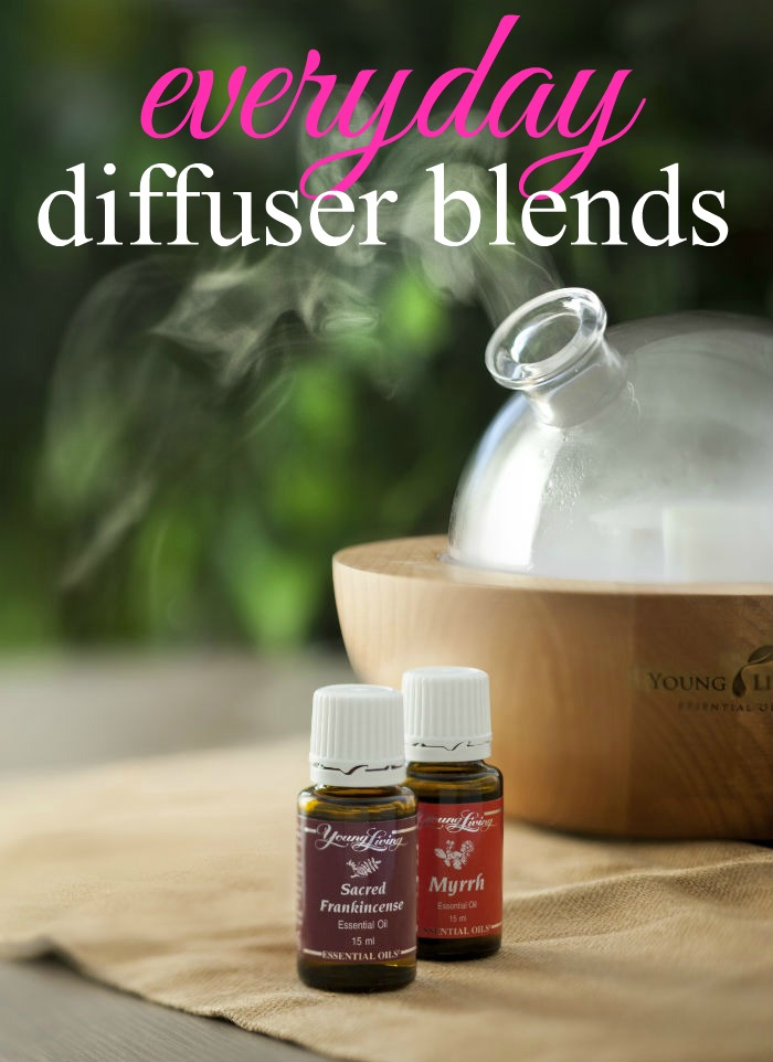 Getting started with essential oils? Here are 8 blends that are great everyday diffuser blends. Diffusing is the perfect way to start using essential oils!