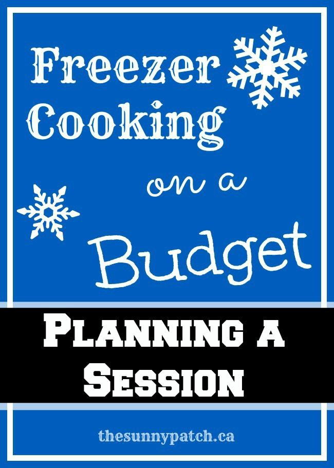 Use your own recipes to plan a freezer cooking session with these FREE printables! Freezer Cooking doesn't have to be difficult!