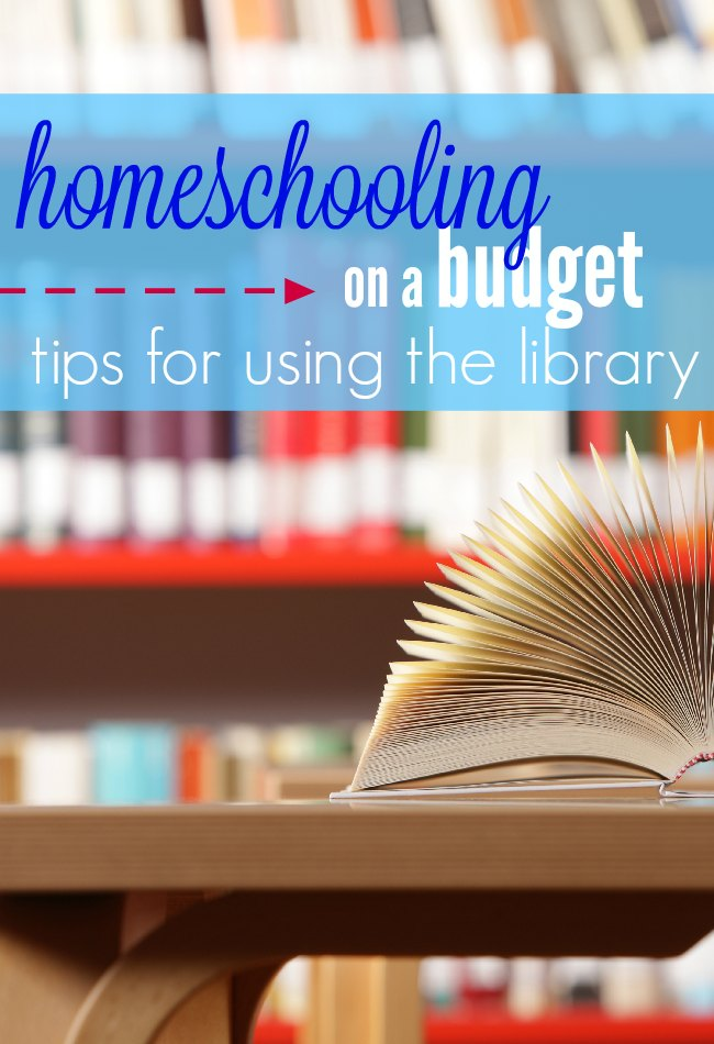 If you're homeschooling on a budget, (and let's face it, most of us are!) there is ONE resource that you need to be using - the local library.