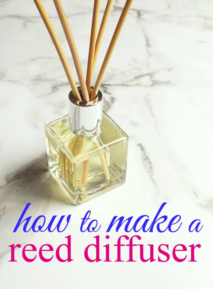 how to make a reed diffuser