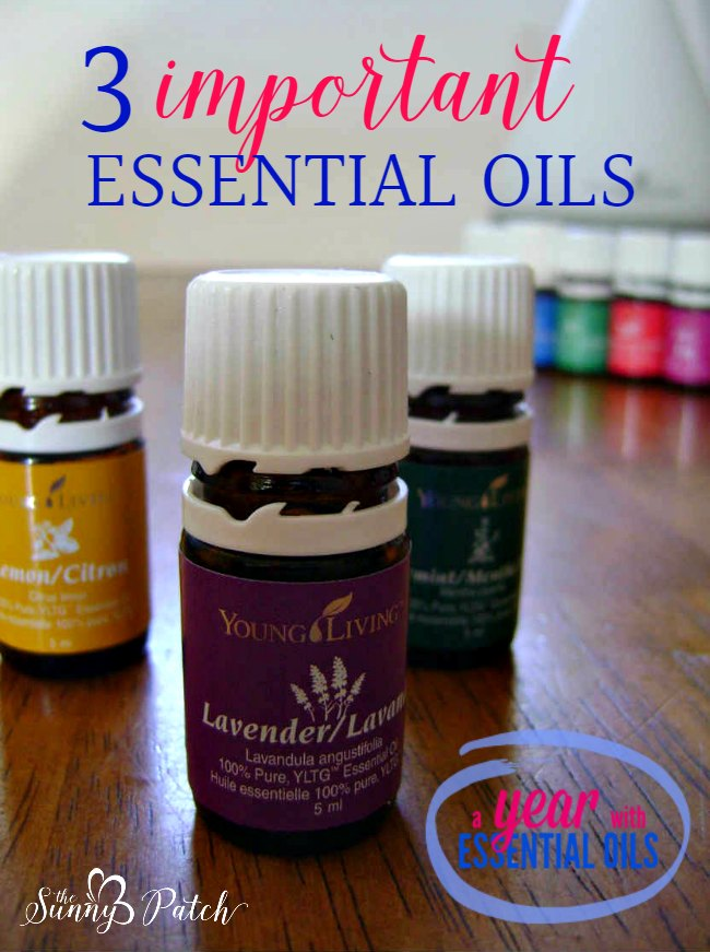 Essential oils are great tools to have in your arsenal. If you're confused by all the options available - start with these three important essential oils.