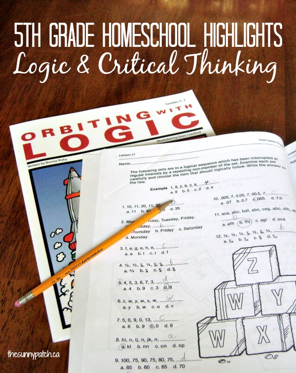 Logic & critical thinking skills are important tools that must be developed. When, how, and why should you teach logic? This post covers it all!