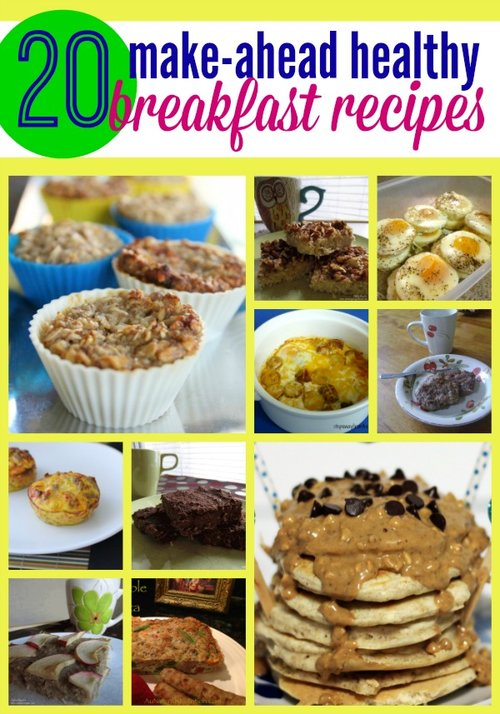 20 Make Ahead Healthy Breakfast Recipes Happy Homeschool Nest