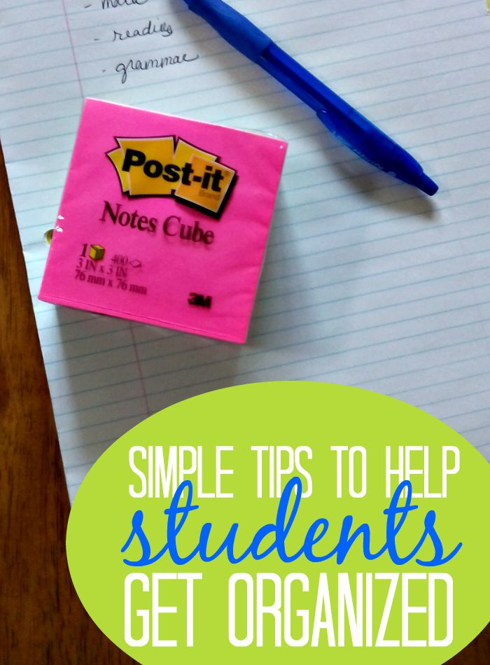 Middle school is the perfect time to introduce more independent learning. With a few simple tools you can help your middle school kids get organized.